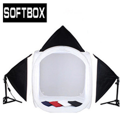 Bộ kit studio 3 đèn 1 hộp tròn