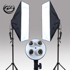 Bộ kit studio 2 đèn 4 bóng 150w