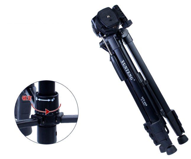 chân máy ảnh yunteng vct 668