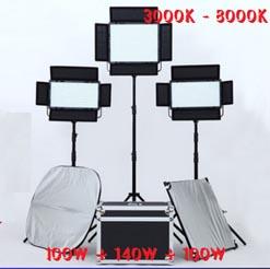 Bộ đèn LED bảng 340w falconeyes