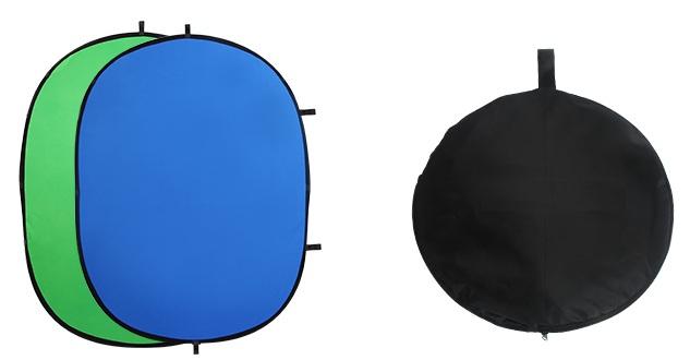 Phông vải xanh tách video