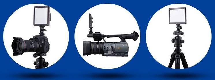đèn led máy quay phim CN-luxpad22