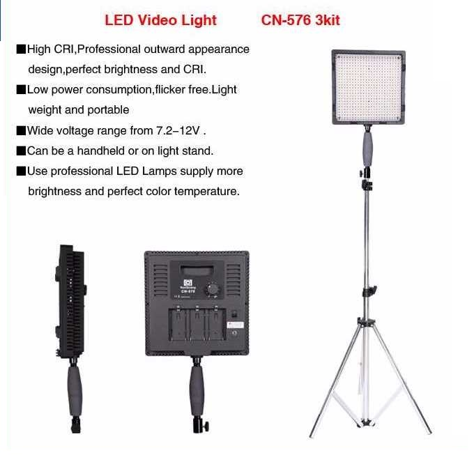 LED Video CN-576 3kit-2