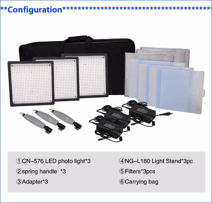 LED Video CN-576 3kit-7