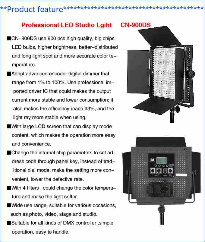 LED Studio CN-900DS-1