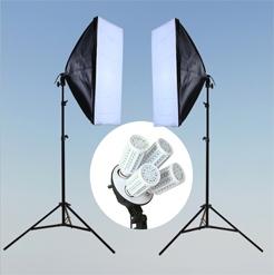 Bộ kit studio 2 đèn 4 bóng led 20w
