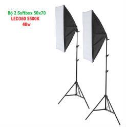Bộ đèn chụp sản phẩm LED360 40w 5500K