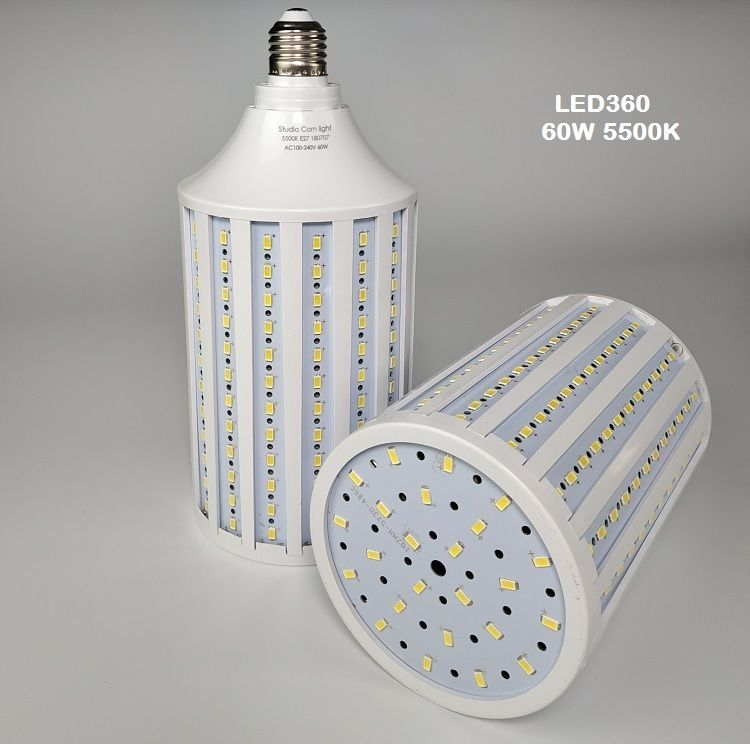 bộ 2 đèn quay phim chụp ảnh LED 240w