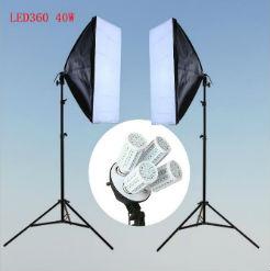 Bộ kit studio 2 đèn 4 bóng LED360 40w