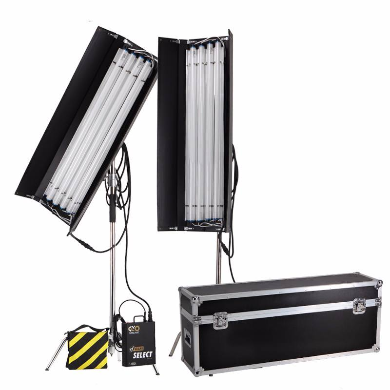 Đèn Kino Flo 4Bank 4' Gaffer 2-Light Kit