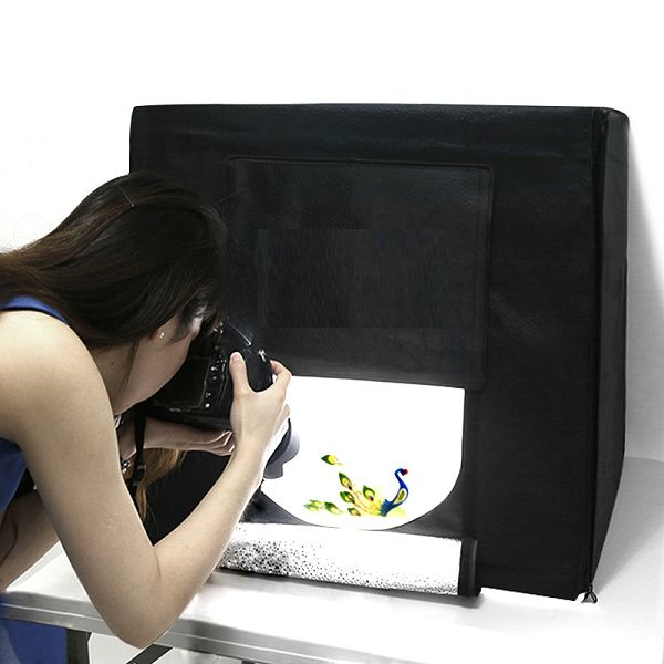 Hộp chụp sản phẩm có đèn LED 80x80cm