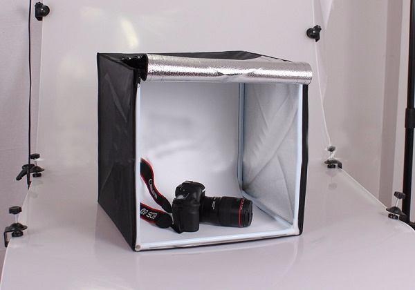Hộp chụp sản phẩm đèn LED 40x40cm