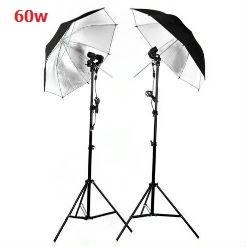 Bộ đèn chụp đôi dù phản LED360 60w