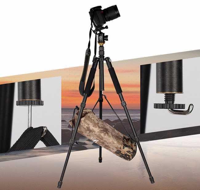 Chân máy ảnh Beike Q999