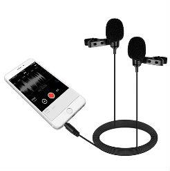 Micro thu âm đôi cài áo BOYA BY-LM400