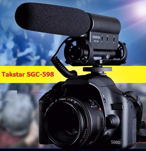 Micro thu âm Takstar SGC-598
