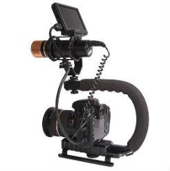 Tay cầm chống rung máy ảnh máy quay chữ C