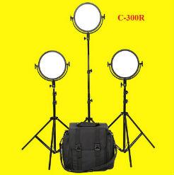 Bộ 3 đèn led ring-C-300R Lishuai