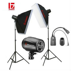 Bộ kit tudio 2 đèn Flash DII250 JINBEI