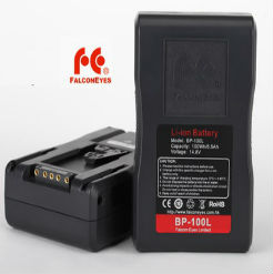 Pin V Mount BP-100L 100Wh Falconeyes