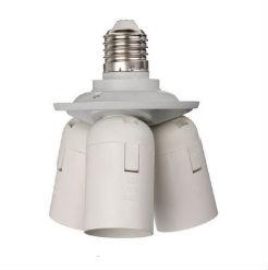 Đầu chuyển đổi đui đèn 1 ra 3 đuôi E27