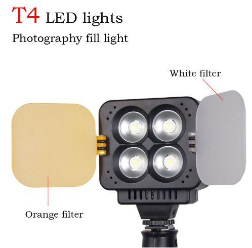 Đèn led quay phim Zifon T4