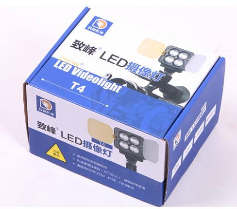 đèn led cho máy ảnh T4 zifon