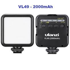 Đèn led video mini VL49 Ulanzi cho điện thoại