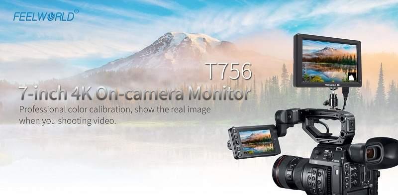 Monitor 4K HDMI IPS 7 inch T756 Feelworld