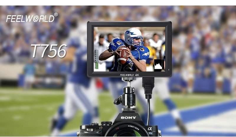 màn hình monitor cho máy quay 4K Feelworld
