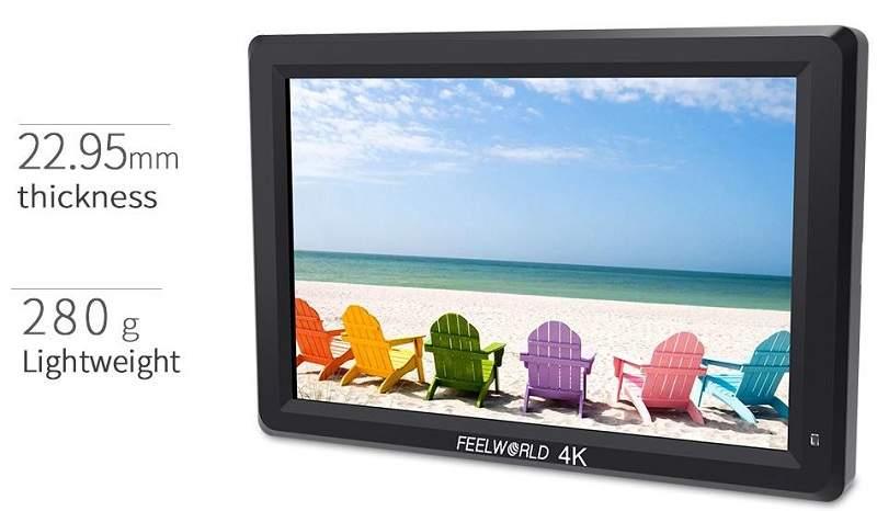 màn hình máy quay 7inch 4K giá rẻ Hà Nội