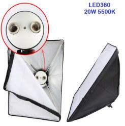 Bộ kit studio 2 đèn 2 bóng LED360 20w
