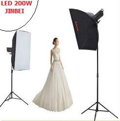 Bộ 2 đèn LED studio 200w Jinbei