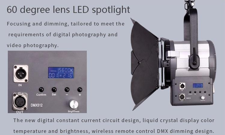 Đèn spotlight LED quay phim 150w