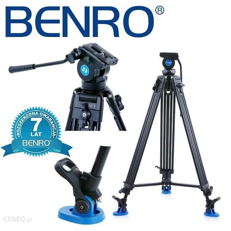 Chân máy quay Benro KH-26NL 1.83m