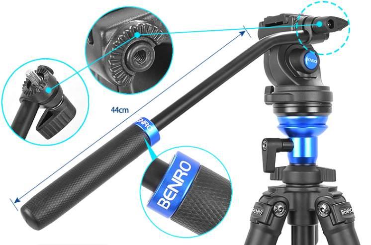 chân máy ảnh benro A1883FS2C