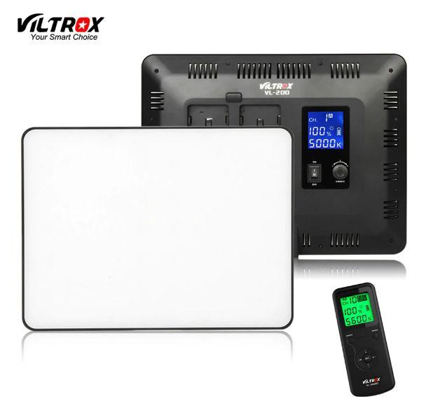 Bộ 3 đèn LED VL-200 quay phim chuyên nghiệp