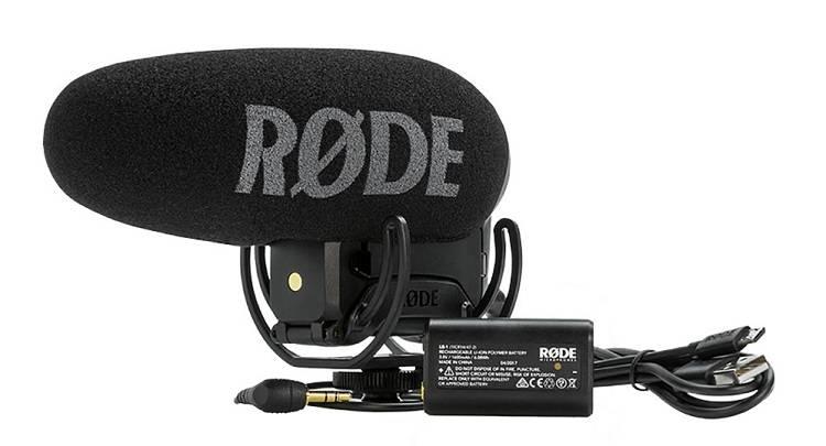 Mic thu âm Rode VideoMic Pro+