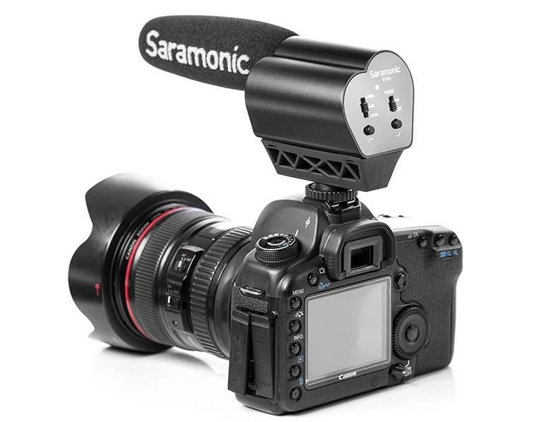 Microphone Saramonic VMIC cho máy ảnh DSLR