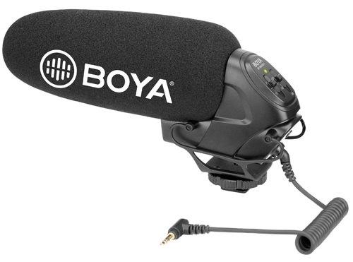 Micro thu âm gắn máy Boya-BY-BM3031