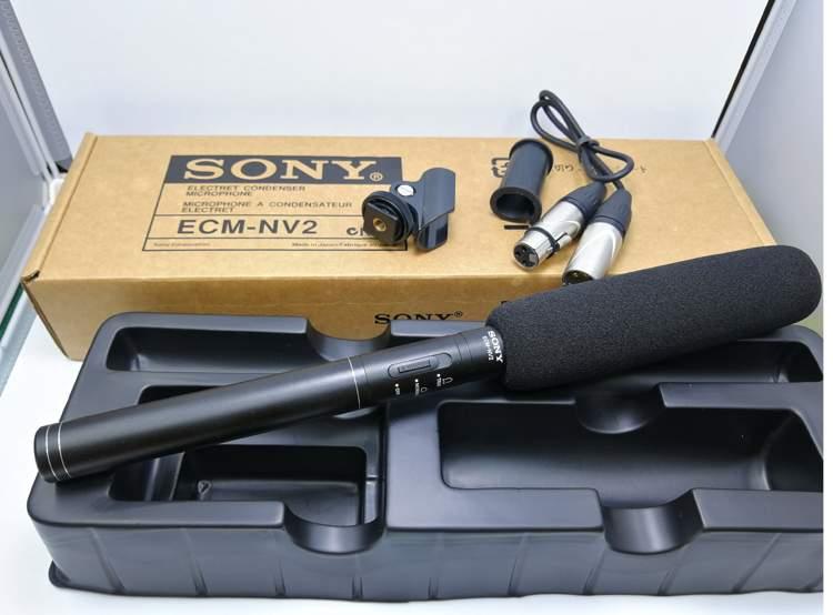 mic thu âm shotgun Sony ECM-NV2