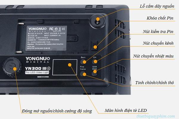 Đèn Led Video Yongnuo YN300 III chính hãng