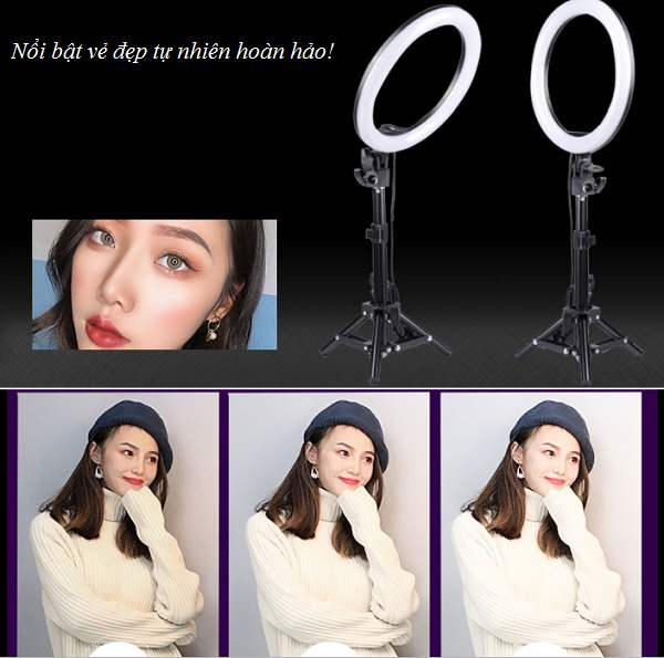 Đèn ring light studio