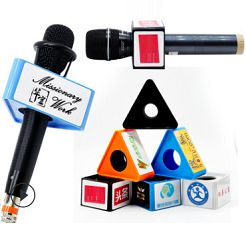 Miếng nhựa vuông dán logo micro