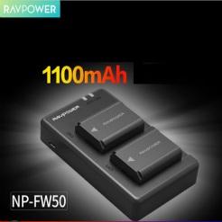 Bộ pin sạc Ravpower NP-FW50 cho máy ảnh Sony
