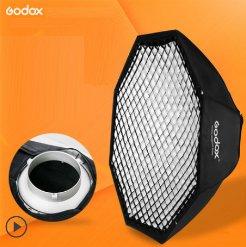 Softbox tổ ong bát giác Godox 95cm