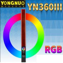 Đèn LED quay phim Yongnuo YN360 III RGB
