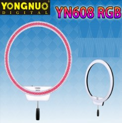 Đèn LED Ring Yongnuo YN608 RGB