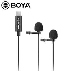 Micro thu âm cài áo BOYA BY-M3D Type-C