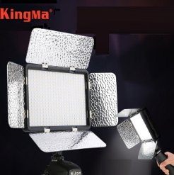 Đèn led quay phim LED-396AS KingMa